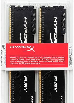 Модуль памяти DDR4 16GB (8GB x 2) 3466MHz HyperX HX434C16FB3K2/16