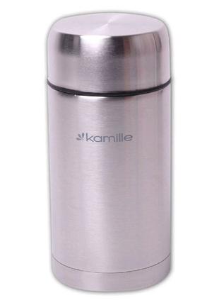 Термос пищевой Kamille - 1000 мл