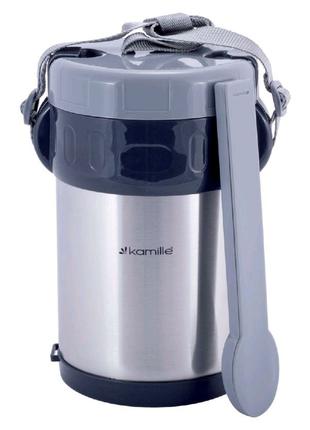 Термос пищевой Kamille - 3000 мл x 3 емкости