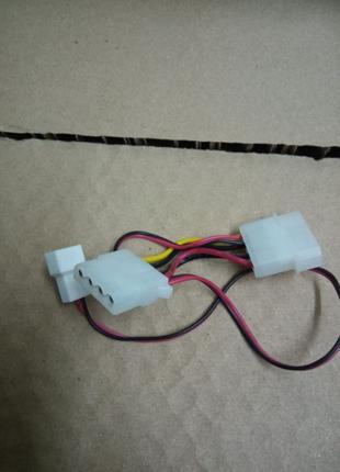 Переходник для кулера с 3 pin на Molex