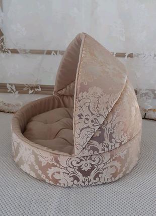 Домик для шпица собачки лежак для щенка йорка кошки чихуахуа