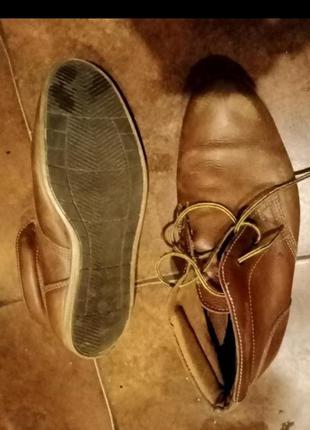 Ботинки 27 5  кожа