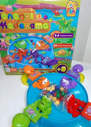 Настольная игра Голодные лягушки