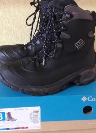 Высокие непромокаемые мужские ботинки columbia omni-grip до -3...