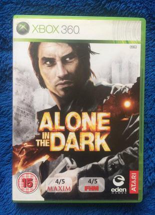 Лицензия ALONE IN THE DARK один в темноте xbox 360