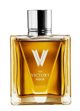 Туалетна вода Avon V for Victory Gold для нього (75 мл)