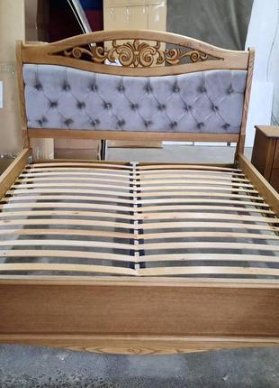 Кровать Глория Ронел в классике из дерева
