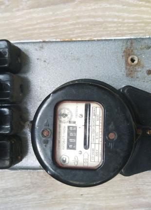 Счетчик однофазный с автоматами и щитком