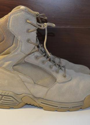 Magnum 43р берцы тактические ботинки кожаные. армейские