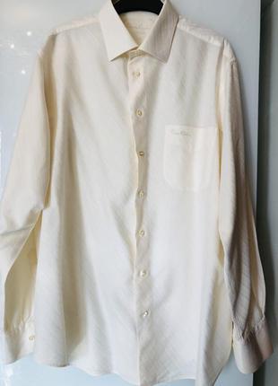 Мужская рубашка pierre cardin цвета ванили