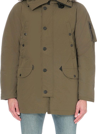 Парка Пуховик Levi's Men's Down Davidson Parka Jacket Green