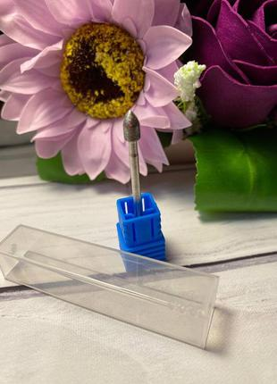 Фреза алмазная «пуля» - 3,5 мм для аппаратного маникюра, педикюра