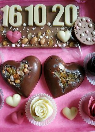 Шоколад ручной работы, шоколадные конфеты, подарки на любой празд