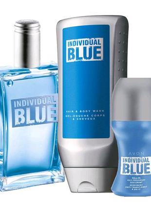Avon мужской набор individual blue ейвон эйвон