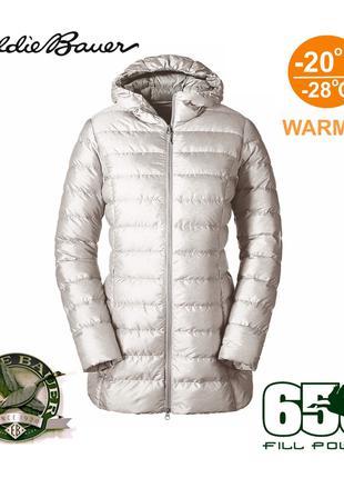Женский ультралегкий пуховик куртка парка пуховая -28 Eddie Bauer