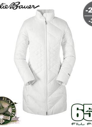 Легкое зимнее пуховое пальто пуховик парка Eddie Bauer FP650 -31