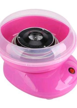 Аппарат для сладкой ваты Cotton Candy Maker. Цвет: розовый