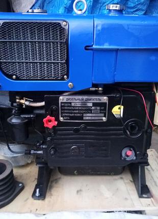 Двигатель дизельный ТАТА(Зубр) ZH1105 мощностью 18 л.с