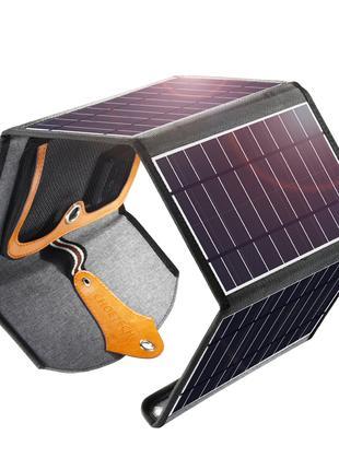 Солнечная Панель, Зарядное Choetech 22W SC005, 5V 2.4A Max