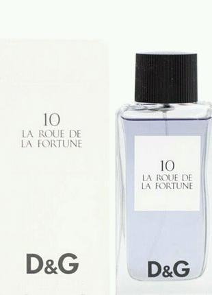 D&G 10 LA ROUE de LA FORTUNE 100 ML муж