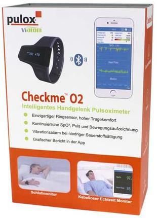 Viatom checkme O2 пульсоксиметры и пульсометр мониторы наручные м
