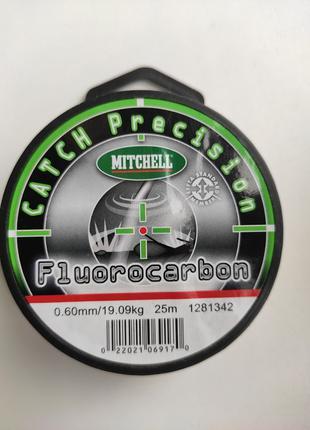Леска Mitchell Catch Precision Fluorocarbon 0.60mm 25m