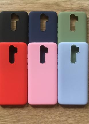 Силиконовый чехол бампер Xiaomi Redmi Note 8 Pro