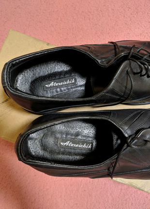 """Мужские туфли """"Оксфорды"""". Натуральная кожа."""