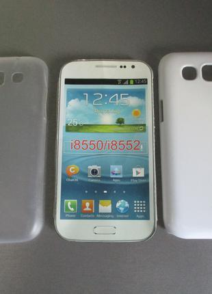 Чехол и защитное стекло для Samsung Galaxy Win GT- I8550 I8552