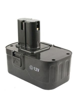 Аккумулятор для шуруповерта Асеса - 12В Ni-Cd прямой 2 контакта