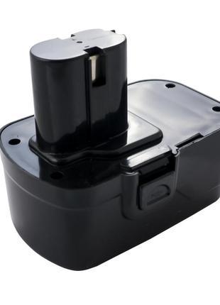 Аккумулятор для шуруповерта Асеса - 18В x 3 контакта Ni-Cd прямой