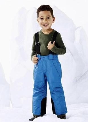 Зимние штаны, полукомбинезон, лыжные штаны lupilu