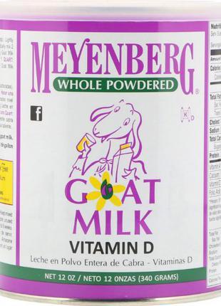 Meyenberg Goat Milk, Сухое козье молоко, витамин D, 340 г Айхерб