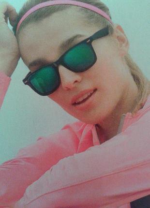 Солнцезащитные зеркальные очки classic metallic