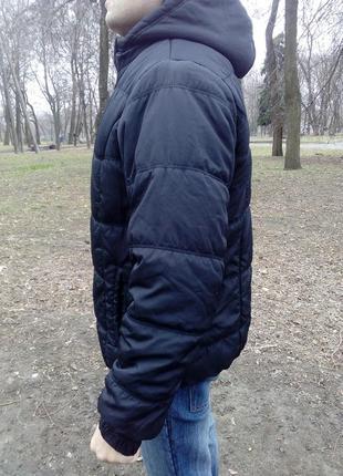 Куртка, курточка мужская, демисезонная, легкая, удобная, черная.