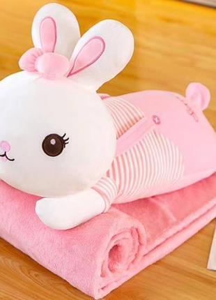 Игрушка 3в1🐰{покрывало, подушка, игрушка}