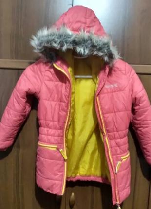Куртка фирменная, курточка, пальто, regatta great outdoors, ро...