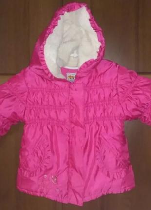 Куртка, курточка, демисезонная, осень, весна, рост 76 - 86 см.
