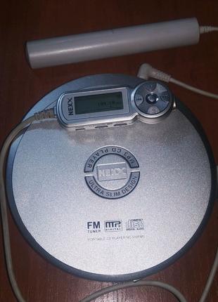 FM радио CD плеер Nexx