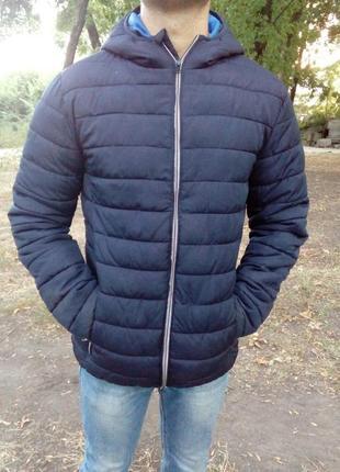 Куртка, курточка, мужская, демисезонная, стеганная, фирменная ...