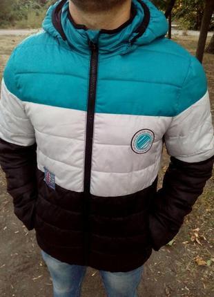 Куртка, курточка, мужская, демисезонная, стеганная, фирменная,...