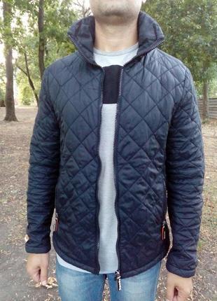 Куртка, курточка, мужская, демисезонная, стеганная, ветровка, ...