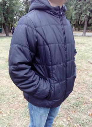 Куртка, курточка, демисезонная, удобная, черная.