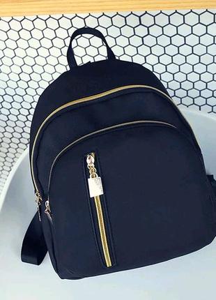 Детский рюкзак сумочка для девочек 1111 IUNI черный