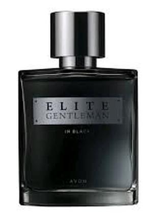 Avon мужская парфюмированная вода Elite gentleman in black ейвон