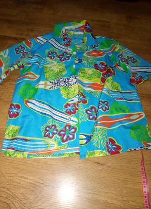 Детская рубашка для мальчика.