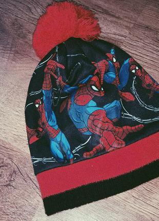Детская шапка spider - man