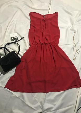 Яркое платье сарафан