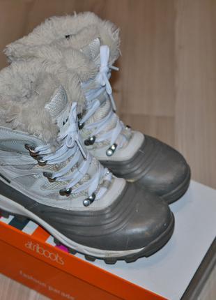Трекинговые теплые Ботинки Kamik 37р.-экстра защита стопы, носка