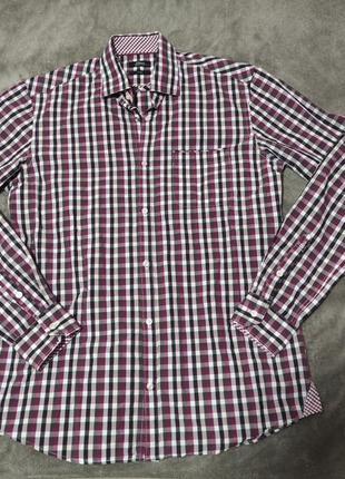 S.oliver рубашка в клетку молодежная стильная
